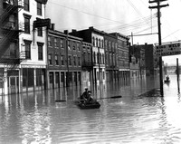 Front Street Flood - Cincinnati Ohio